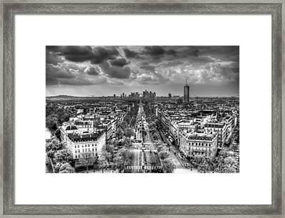 Paris No. 2 Framed Print by Ryan Wyckoff