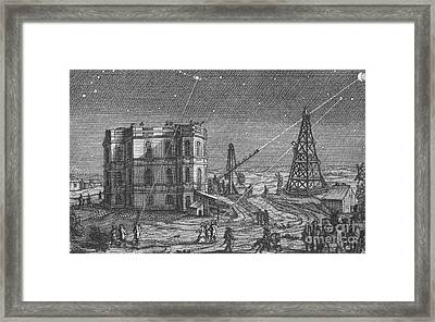 Paris Observatory, 17th Century Framed Print by Science Source