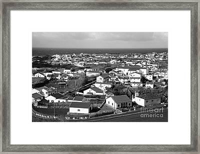 Parish In The Azores Framed Print by Gaspar Avila