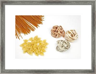 Pasta Framed Print by Joana Kruse
