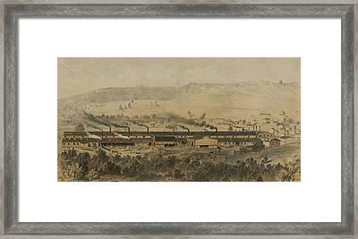 Paterson Iron Company Framed Print