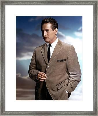 Paul Newman Framed Print