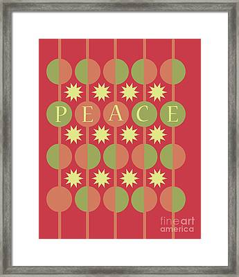 Peace Framed Print by HD Connelly