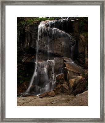 Peaceful Falls Framed Print
