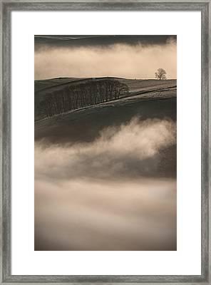 Peak District Landscape Framed Print by Andy Astbury