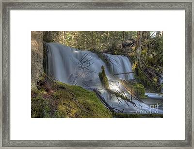 Pearsoney Falls Framed Print by Jim Adams