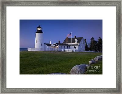 Pemaquid Point Lighthouse Framed Print