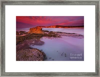 Pennington Dawn Framed Print by Mike  Dawson