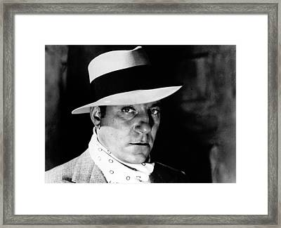 Pepe Le Moko, Jean Gabin, 1937 Framed Print by Everett