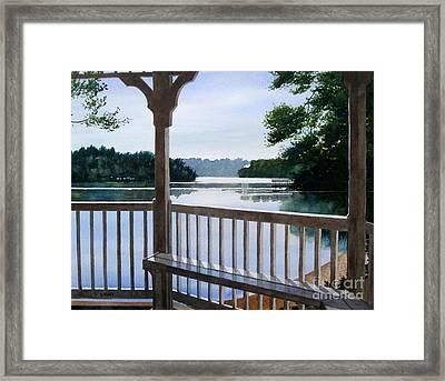 Perfect Summer Morning Framed Print by Shirley Braithwaite Hunt
