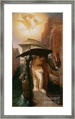 Perseus And Andromeda Framed Print by Frederic Leighton