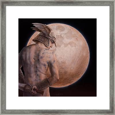 Perseus Framed Print by Jose Luis Munoz Luque