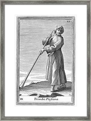 Persian Trumpet, 1723 Framed Print