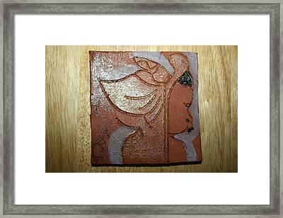 Perusal - Tile Framed Print