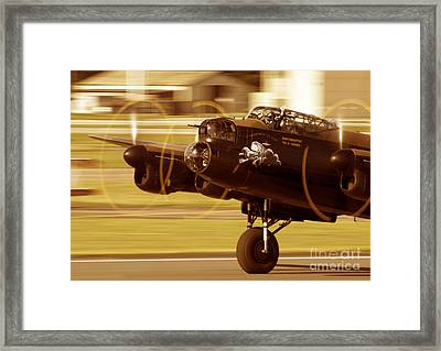 Phantom Of The Ruhr Framed Print