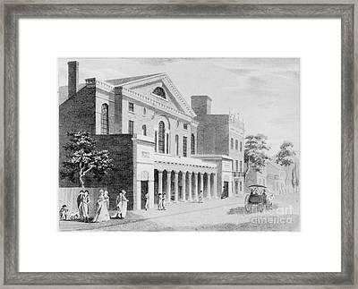 Philadelphia: Theater Framed Print by Granger
