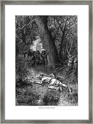 Philip (metacomet) Framed Print