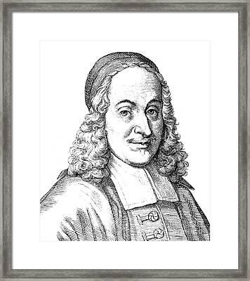 Philipp Spener (1635-1705) Framed Print
