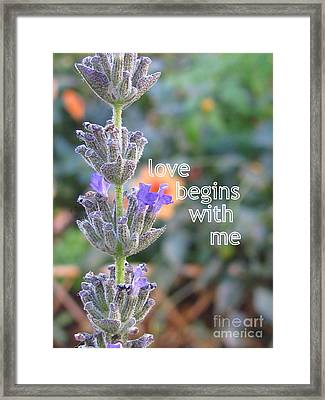 Philosophy Framed Print by Tina Marie