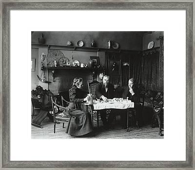 Photographer Frances Benjamin Johnston Framed Print