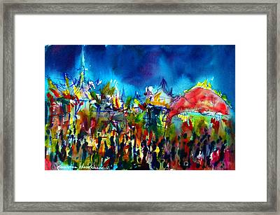 Phra Meru Ground Framed Print