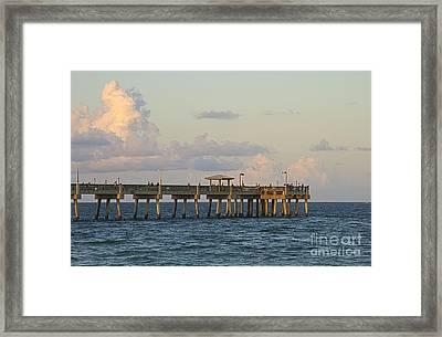 Pier Framed Print by Blink Images