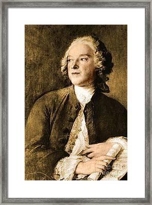 Pierre-augustin Caron De Beaumarchais Framed Print