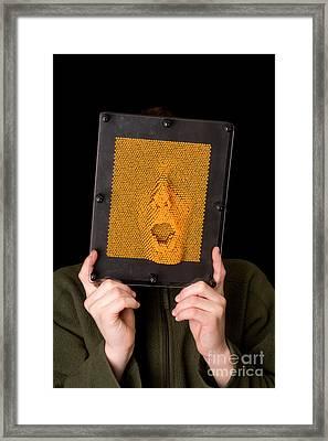 Pinhead Framed Print by Ted Kinsman