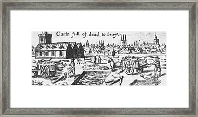 Plague, 1665 Framed Print by Science Source