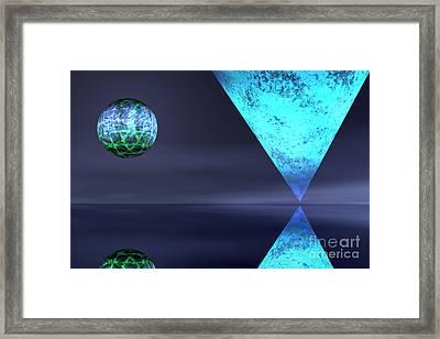 Planet Reflection Framed Print