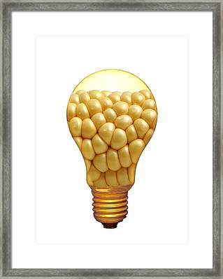 Plant Research, Conceptual Artwork Framed Print by Victor De Schwanberg