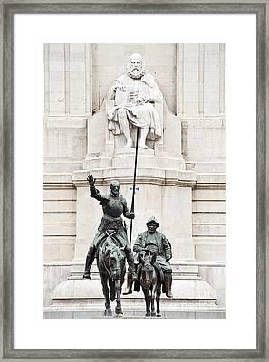 Plaza De Espana Framed Print by John Greim