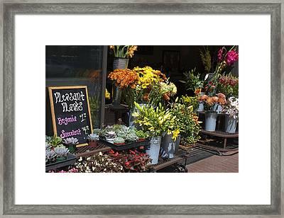 Pleasant Plants Framed Print