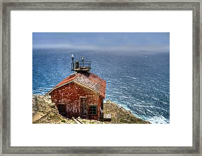 Point Reyes Lighthouse Framed Print by Diego Re