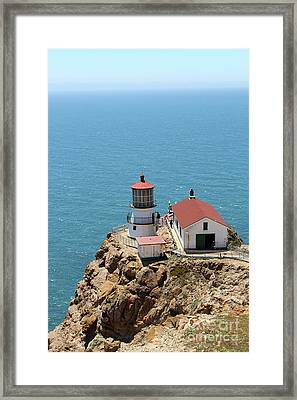 Point Reyes Lighthouse In California 7d15989 Framed Print