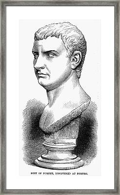 Pompey The Great Framed Print by Granger
