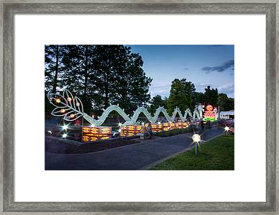 Porcelain Dragon Framed Print by Semmick Photo