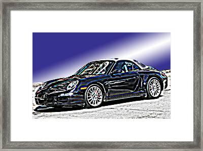 Porsche 911 Carrera Framed Print by Samuel Sheats