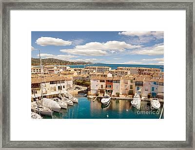 Port Grimaud 1 Framed Print by John James