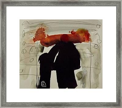 Portal Framed Print by Jorgen Rosengaard