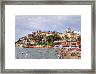 Porto Maurizio - Liguria Framed Print by Joana Kruse