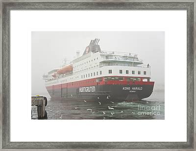 Post Ship  Framed Print by Heiko Koehrer-Wagner