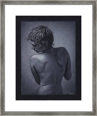 Posterior Nude Framed Print by Tyler Smith
