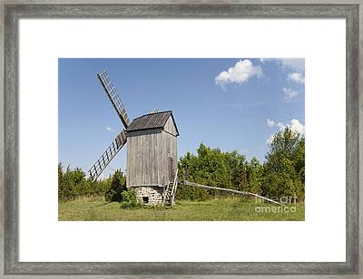 Preserved Windmill Framed Print by Jaak Nilson