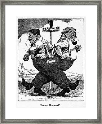 Presidential Campaign, 1912 Framed Print