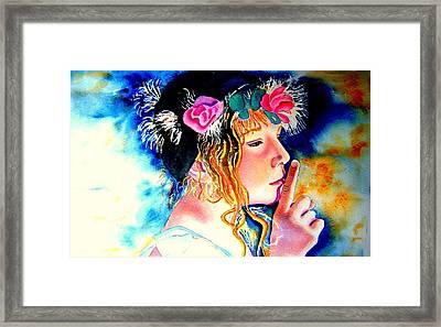 Princess Framed Print by Amanda Pillet