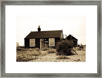 Prospect Cottage Derek Jarmen Framed Print by Dawn OConnor