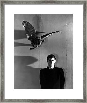 Psycho, Anthony Perkins, 1960 Framed Print by Everett