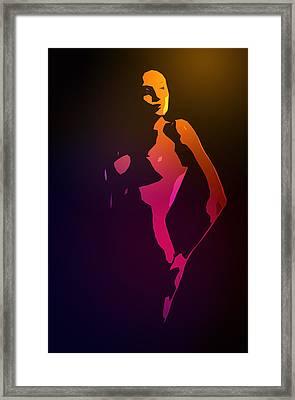 Pure Female Framed Print by Steve K
