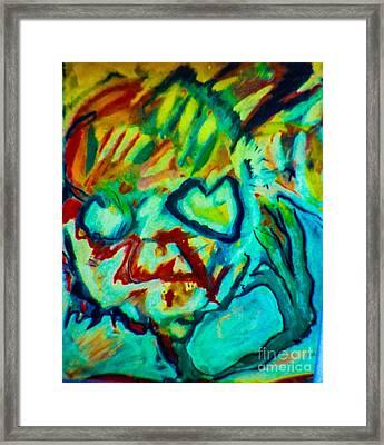 Purple People Eater Framed Print by Bill Davis